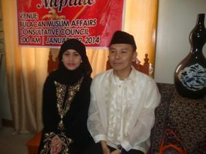 Islamic wedding ng Filipina at Malaysian ginanap sa tanggapan ng BMACC