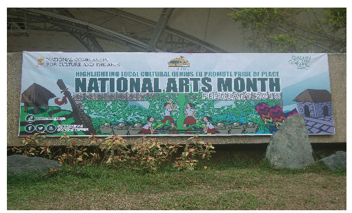 national arts month
