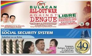 Bulacan, ipinagdiwang ang isandaang taon ng kooperatibismo; Bulacan, idineklarang nasa state of calamity dahil sa dengue at SSS, kumita ng P274.5-M mula sa real estate properties, P 1.2-B na kita inaasahan sa katapusan ng taon