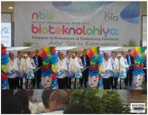 Unang araw ng biotech week 2015 kasabay ng anibersaryo nang Maguindanao Massacre at science community aasa na lang na suportahan ng next admin ang biotech