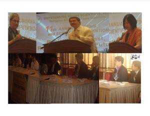 38th ASM ng NAST; OYSI 11th Annual Meeting at 40th taon ng NAST at mga Dalubhasa Nagkita kita