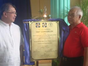 PHILAAST Awardees Named; Disenyo ng mga Evac. Cent. dapat isaayos- dela Pena atIka 1000 Starbooks inilunsad sa Calauan
