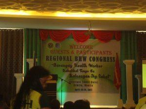 DOH MIMAROPA sinanay ang 36 BNS ng Mindoro Oriental sa paghahanda ng Raw Food ; Anak ng mga BHW ng MIMAROPA i-iskolar ng DOH MIMAROPA at Palawenyo Pinarangalan kasabay ng Regional BHW Congress kasama ang DOH MIMAROPA