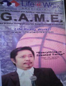 """Kahalagahan ng 'Goal Setting"""" ibinahagi; G.A.M.E. talk with """"OI"""""""