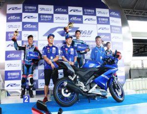 300 mag aaral ng Magsaysay Elem, nabiyayahan ng Yamaha Club; YAMAHA YZF- R15 inilungsad at Yamaha's Anniversary , 1k Yamaha Club Riders rocks Cebu City