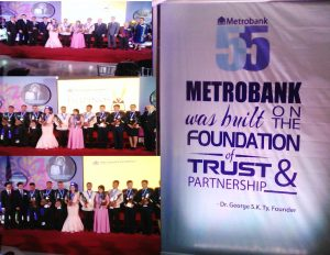 SCIENCE TEACHERS BAGGED METROBANK FOUNDATION PRIZE FOR OUTSTANDING FILIPINO,U.S ENVOY GRACED METROBANK FOUNDATION AT 55 AND METROBANK FOUNDATION CHAMPIONS WOMEN AS OUTSTANDING FILIPINO