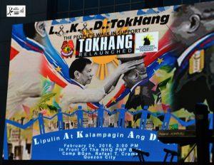 LAKAD TOKHANG Peoples's walk In Support for TOKHANG RELAUNCHED; PRRD SUPPORTERS NAGKAKAISANG INILUNSAD ANG KILUSANG PAGBABAGO