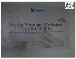 Popularisasyon at Kahalagahan ng ASTRONOMIYA kabilang sa patuloy na Modernisasyon ng PAGASA  at TFAW 2018 Ipinagdiriwang ng PAGASA