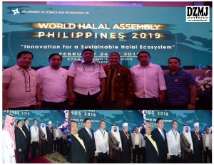 LIDER MUSLIM NAGKITA KITA SA WORLD HALAL ASSEMBLY 2019