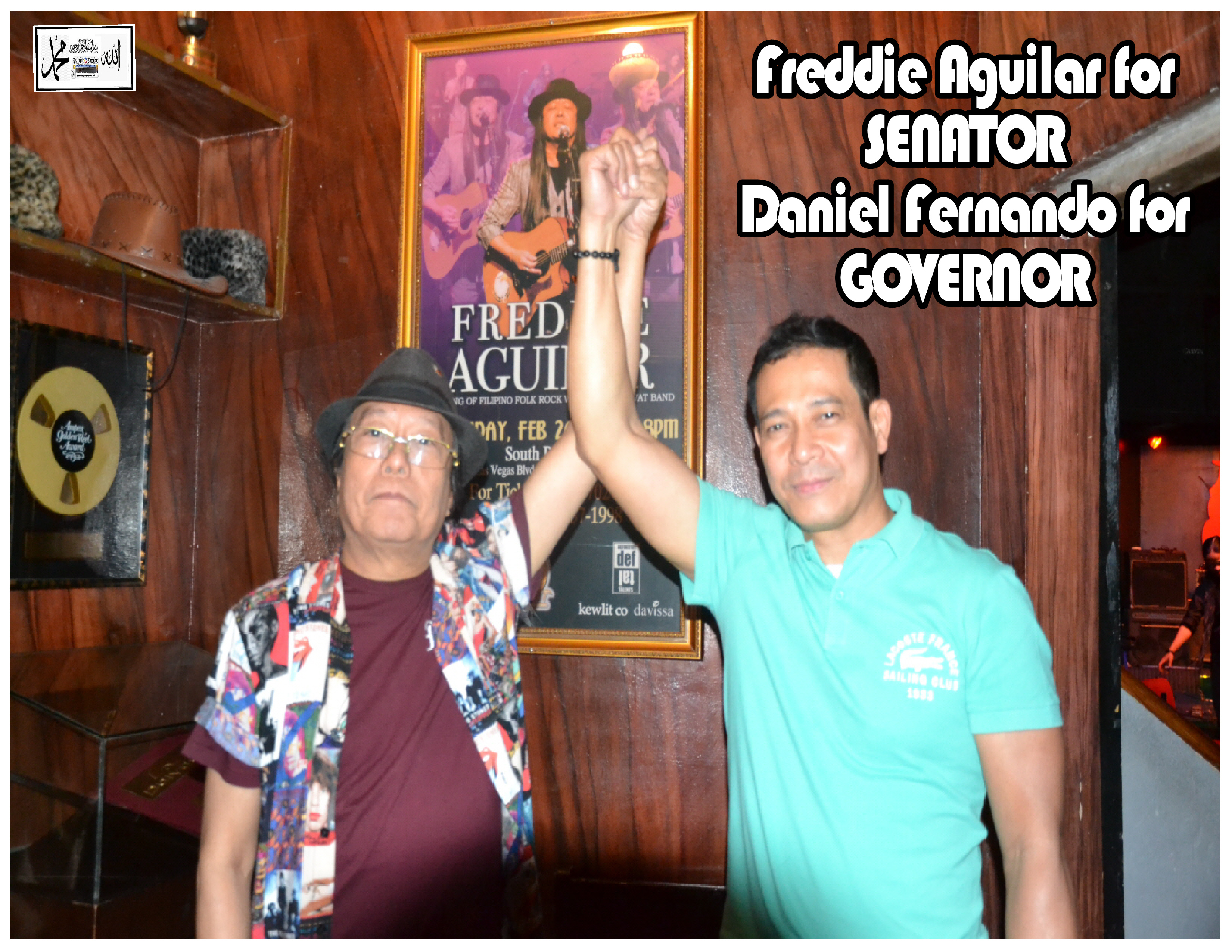 aguilar for senator fernando for governor