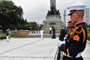Rizal Park Closed due to COVIC-19