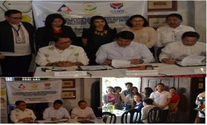 Ceremonial Signing of MOU of Training and Employment of Qualified 4P's Beneficiaries of