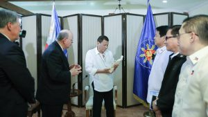 Elder Cook Meets With Philippine President Duterte