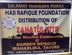 GIFT GIVING BY THE HRF ZAKATUL FITR