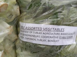 DOST-PCAARRD, Benguet SAFE-DRR make vegetables available for Benguet, Metro Manila