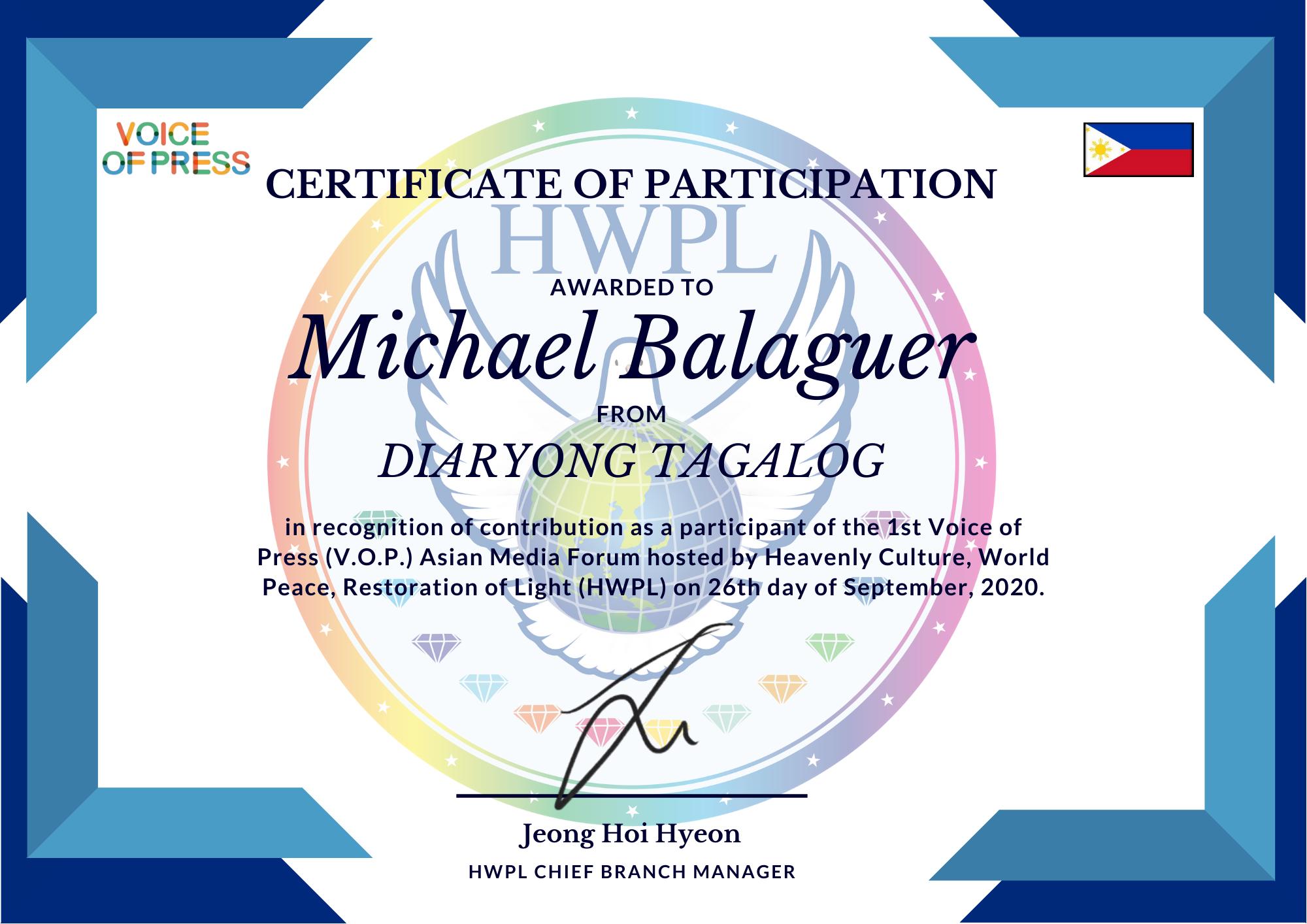 Michael Balaguer