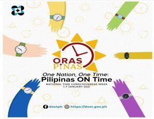 ORAS PINAS bagong FILIPINO TIME