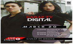 GANAP TV DIGITAL AWARDS INAABANGAN NG BUONG MUNDO