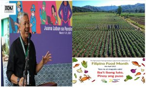 Filipino Food Month seen to help promote local agriculture