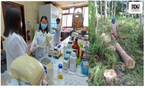 DOST, MSU-IIT use green technology to produce insulation, packing foam materials from waste
