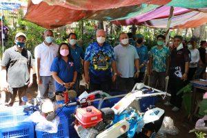 DA-MiMaRoPa nagkaloob ng isang makinarya sa Salvacion Farmers Association, Puerto Princesa